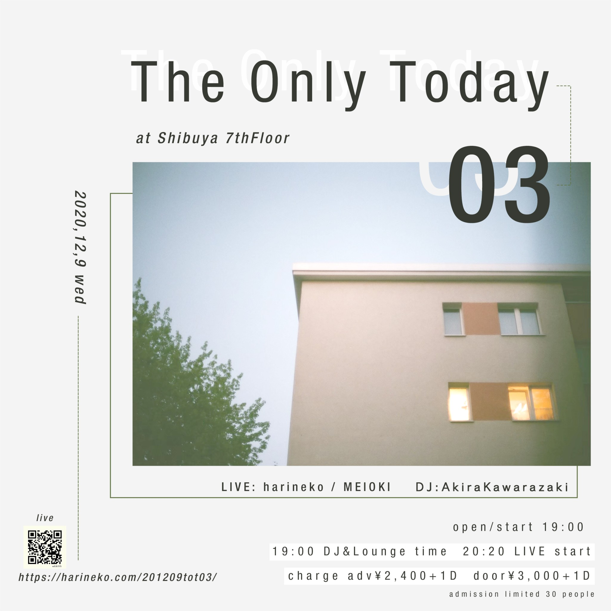 The Only Today 03 at Shibuya 7thFloor