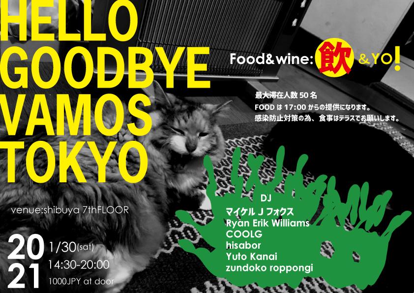 HELLO GOODBYE VAMOS TOKYO